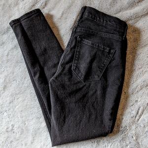 Curvy 2 Short Black Skinny Jeans
